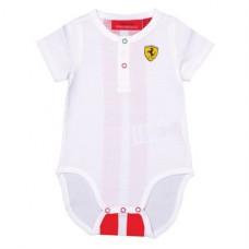 *Оригинальное боди Ferrari для новорожденного, белое