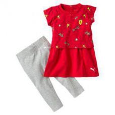 *Оригинальный костюм Ferrari by PUMA для новорожденной девочки
