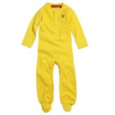 Жёлтая пижама Ferrari для новорожденного