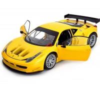 *Модель гоночного автомобиля  (1:18) Ferrari 458 Italia GT