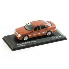 Модель автомобиля (1:43) - Mercedes-Benz C-Class Orange metallic