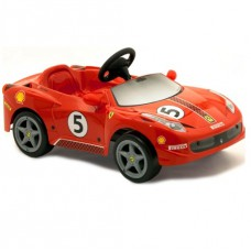 *Детский педальный автомобиль Ferrari 458 Challenge