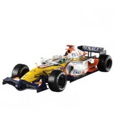 Масштабная модель Болида (1:18) Renault R27 с гонщиком G.Fisichella