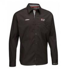 Модная мужская рубашка MINI COOPER Team, чёрного цвета