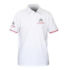 *Белое мужское поло Citroen Racing