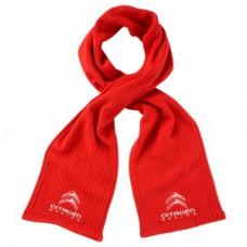 *Красный мужской шарф Citroen