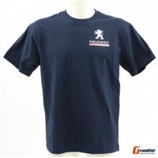 *Мужская футболка Peugeot Sport синего цвета