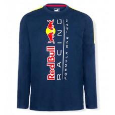 *Мужская футболка Red Bull Racing с длинным рукавом