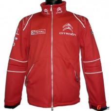 *Мужская клубная куртка Citroen Racing Club красная