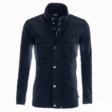 *Мужская куртка ветровка MINI Sound темно-синяя