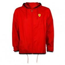 *Мужская ветровка  Ferrari с защитой от дождя