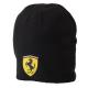 *Черная шапка Ferrari Beanie