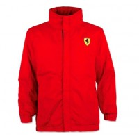 Брендовая детская утепленная куртка Scuderia Ferrari