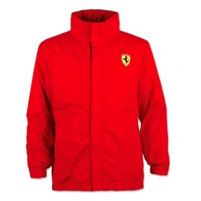 Детская брендовая утепленная куртка Ferrari