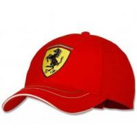 Красная бейсболка Ferrari Personalized Visor