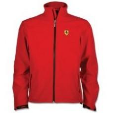Красная мужская куртка Softshell Scudetto Ferrari