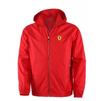 *Красная мужская ветровка Ferrari