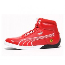 *Красные мужские кроссовки PUMA Ferrari 3-0 MID SF