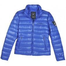 *Мужская дутая куртка Lamborghini, синяя