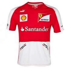 Командная мужская футболка Ferrari Replica F1