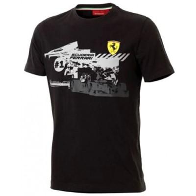 Брендовая футболка Ferrari для подростка