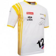 Мужская футболка Renault Vitaliy Petrov