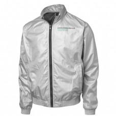 *Мужская куртка Mercedes AMG Fan Bomber серебристая