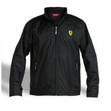Чёрная мужская ветровка Ferrari