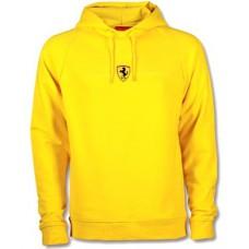 Мужская толстовка с капюшоном Stripe Ferrari ярко желтого цвета