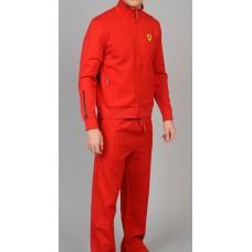 *Мужской спортивный костюм Ferrari Scudetto красный
