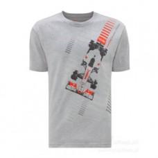 Серая мужская футболка Vodafone McLaren Mercedes