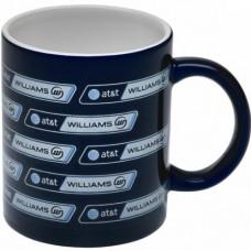 Синяя кружка керамическая Williams
