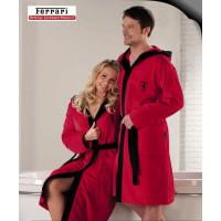 Взрослый халат Ferrari красный. Коллекция Exclusive