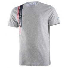 Серая мужская футболка BMW Motorsport