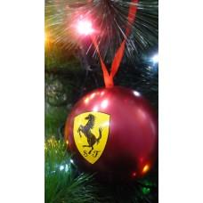 Новогодний шар Ferrari с сюрпризом