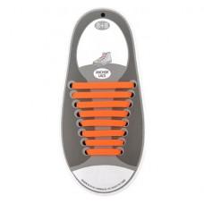 Эластичные шнурки для обуви, оранжевые