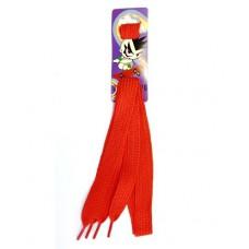Красные шнурки для обуви 120 см