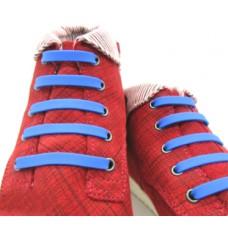 *Ленивые шнурки для обуви, синие