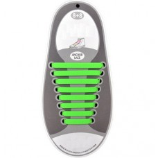 *Резиновые шнурки для обуви, зеленые