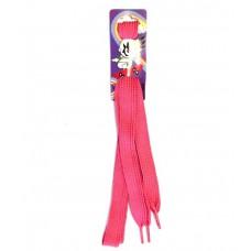 Розовые шнурки для обуви 120 см