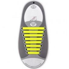 *Силиконовые шнурки для кроссовок, жёлтые
