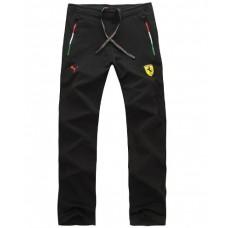 *Спортивные штаны Ferrari, черного цвета