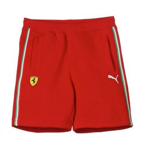 Детские спортивные шорты PUMA Ferrari для мальчика, красные ... 04659b57bc8