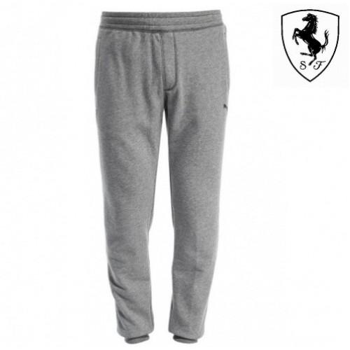 3ef7c4dc Мужские спортивные штаны PUMA Ferrari с манжетами, серые ...