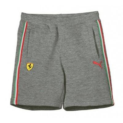*Трикотажные шорты PUMA Ferrari для мальчика, серые