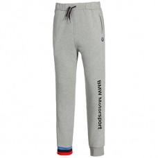 Зауженные мужские спортивные штаны PUMA BMW Motorsport, серые