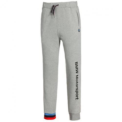 Зауженные мужские спортивные штаны PUMA BMW Motorsport, серые ... dc3e4e82e9f