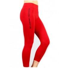 *Женские спортивные лосины Ferrari, красные