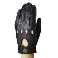 Мужские автомобильные перчатки (чёрные)