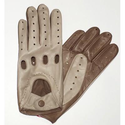 *Мужские кожаные автомобильные перчатки